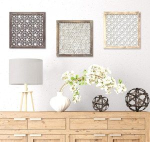 Wall Decor Frame Kotak