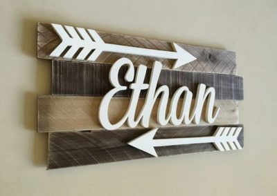 Baby Name Sign Ethan